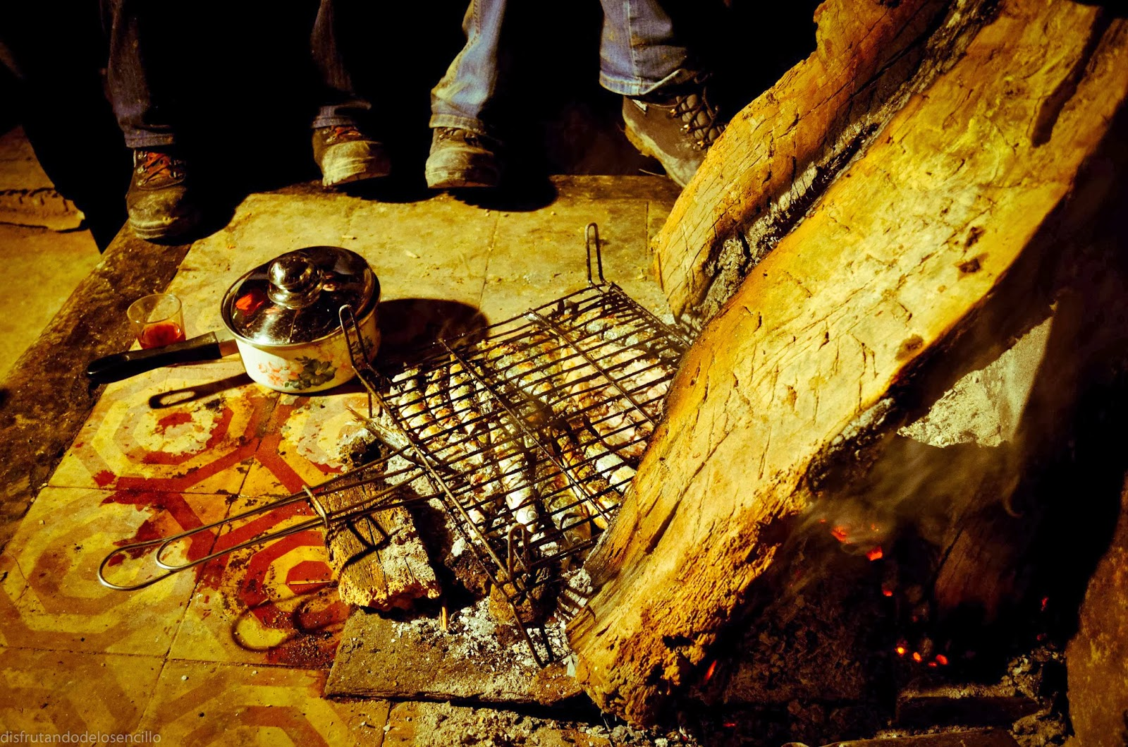 esperando la cena, arraya de oca, burgos, by c.araus
