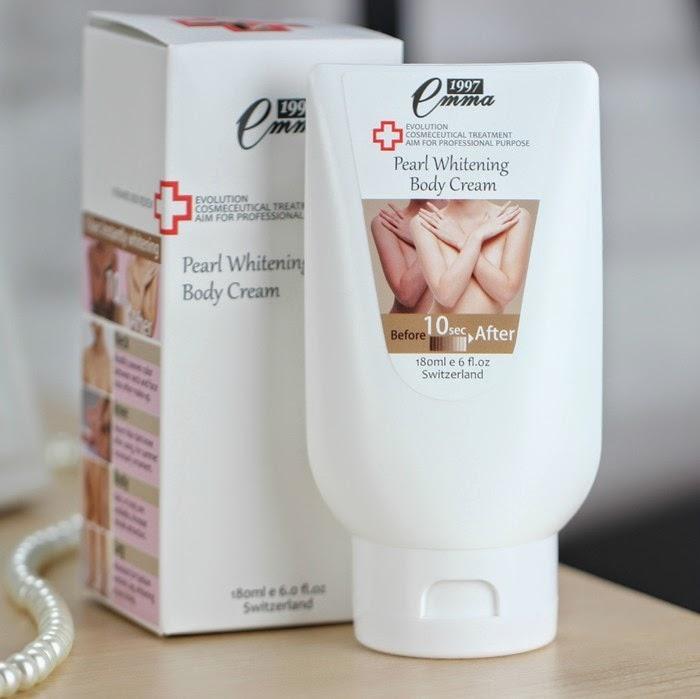 Emma Pearl Whitening Body Cream