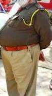 A Punjab Police Officer on duty