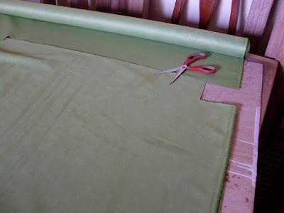 Decoraciones manualidades en madera empezando a tapizar - Esponja para tapizar ...