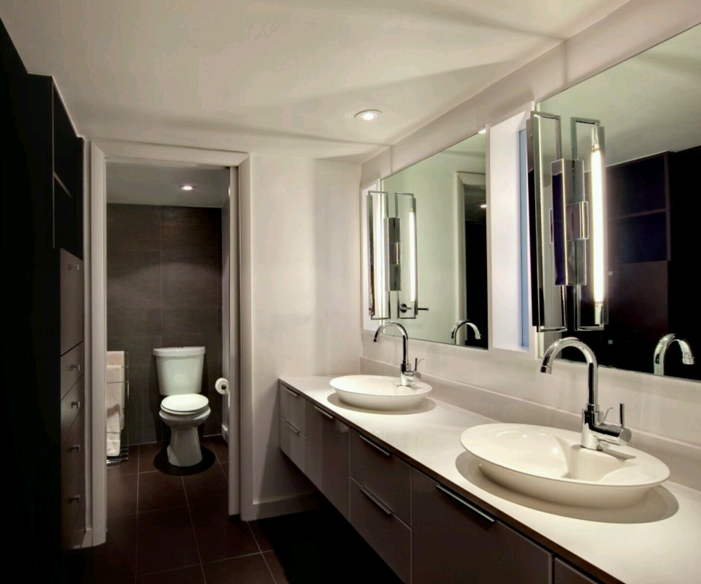 Modern furniture modern luxury washrooms designs for Washroom designs pictures