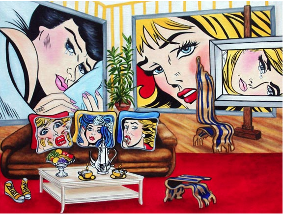 Expressions of Roy - Lictenstein