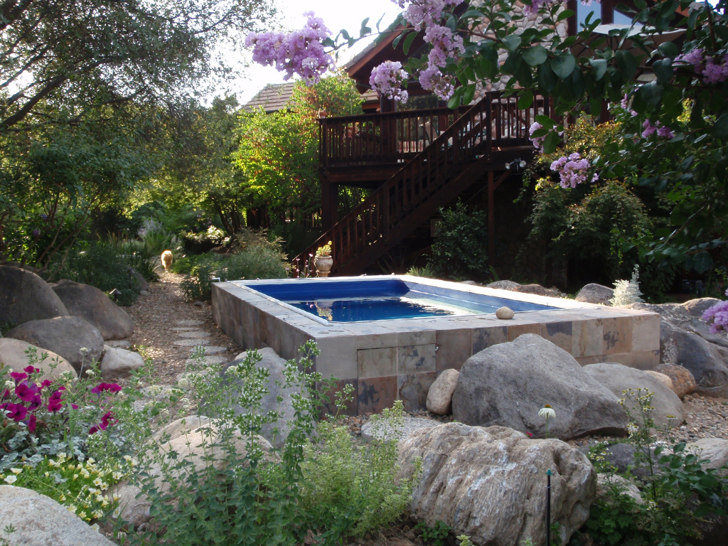 comparing endless pools to natural swimming pools. Interior Design Ideas. Home Design Ideas