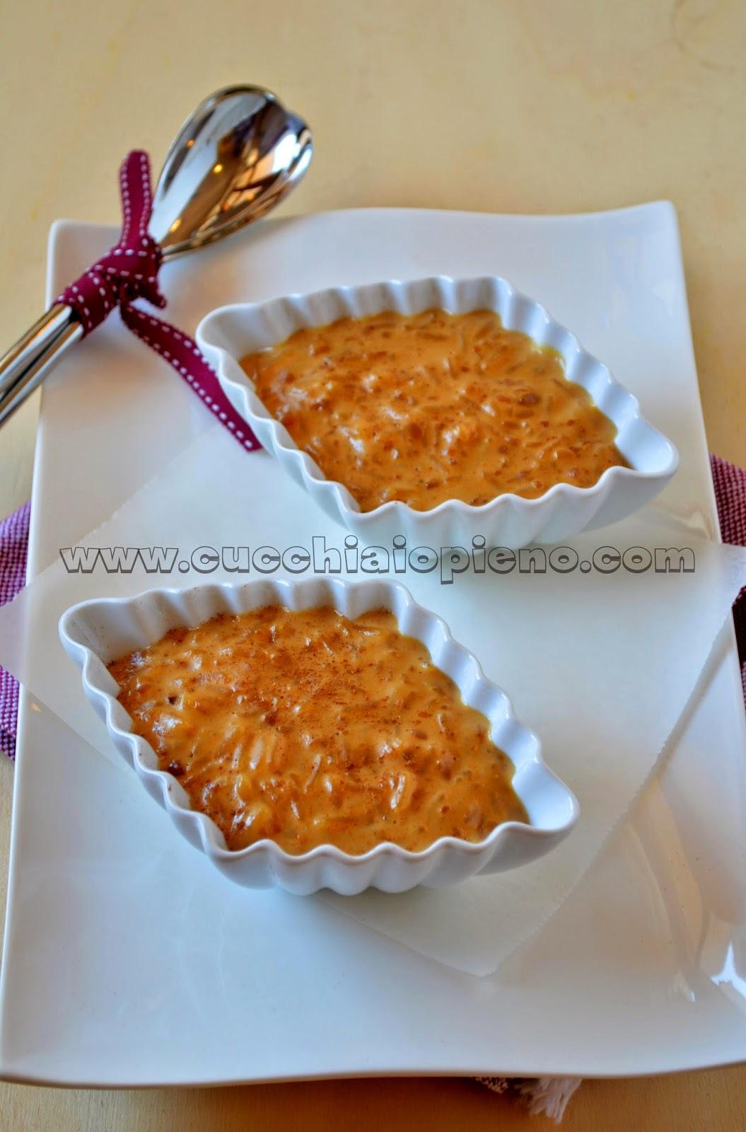 arroz doce cremoso
