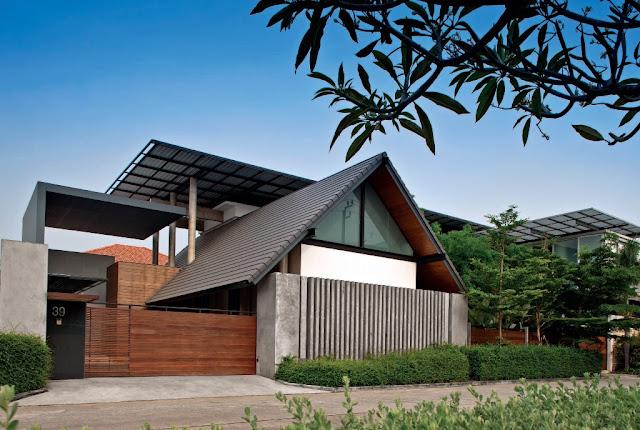 Trop V The Modern Tropical Thai House