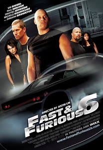Poster Of Fast and Furious 6 (2013) In Hindi English Dual Audio 300MB Compressed Small Size Pc Movie Free Download Only At World4ufree.Org