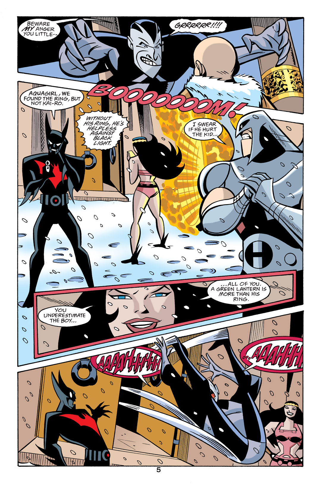Batman Beyond [II] Issue #22 #22 - English 6