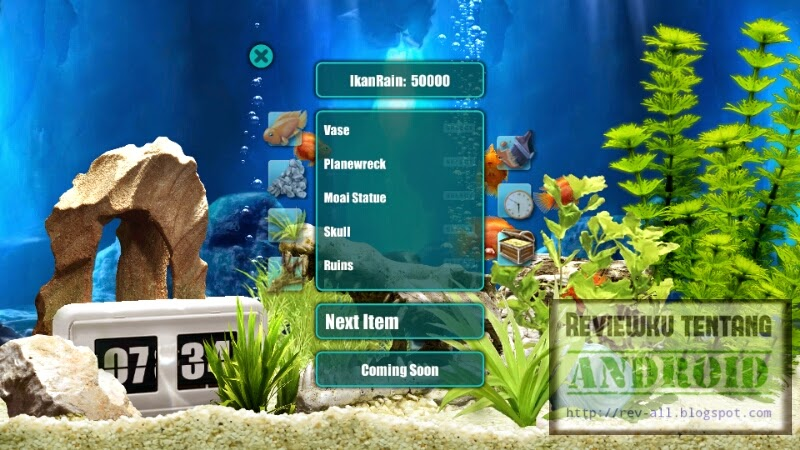 Poin penuh game iquarium Android (rev-all.blogspot.com)