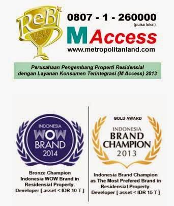 Award PT Metropolitan Land Tbk (Metland)