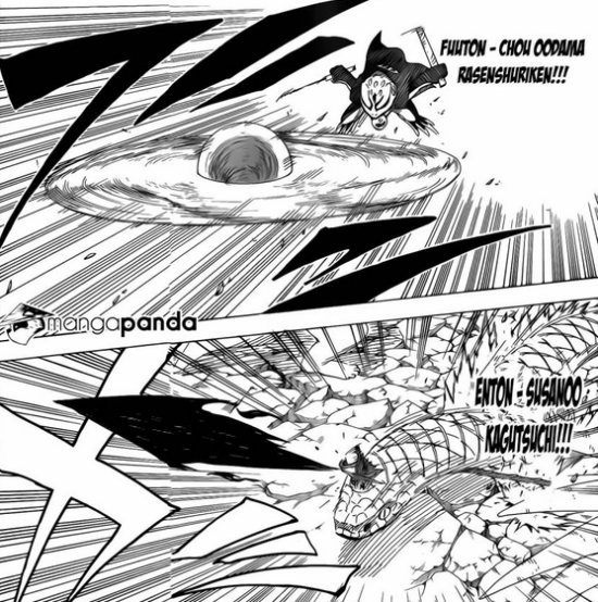 "Naruto Chapter 634 ""A new three-way deadlock"" - Naruto Review Bahasa Melayu"