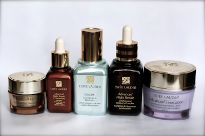 Estee Lauder The Idealist, Advanced Time Zone, Night Repair creams and serums