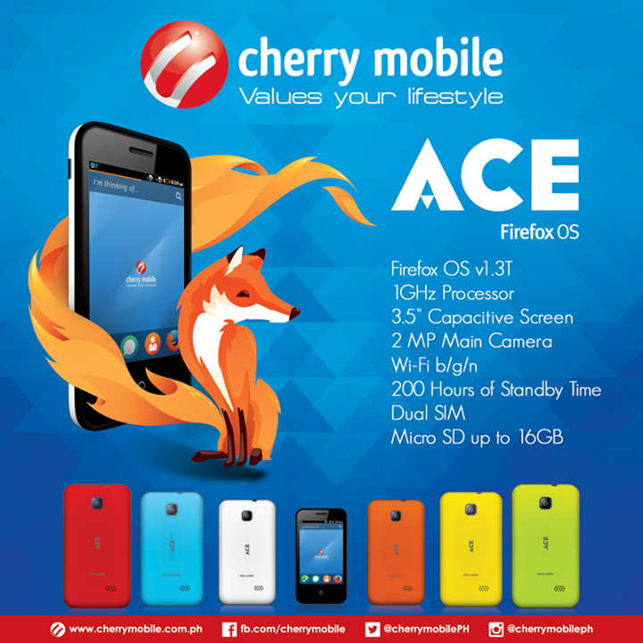 Cherry Mobile Ace: Specs, Price and Availability