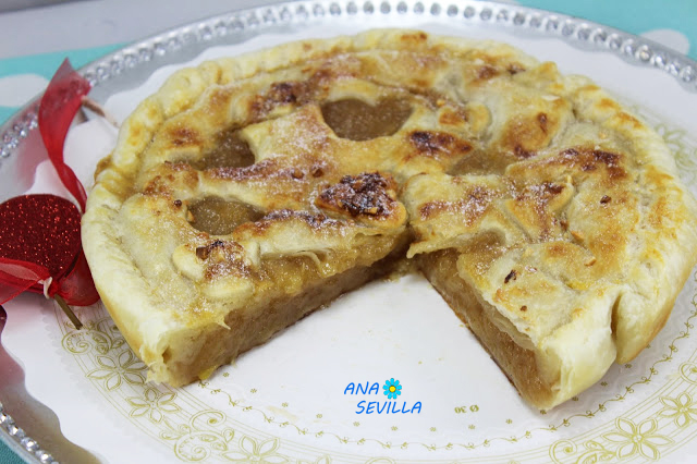 Empanada de manzana Ana Sevilla con olla GM