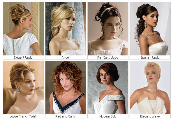 Choosing The Right Wedding Hairstyles