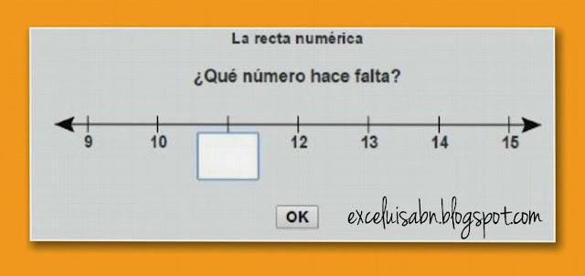 Numeración en la recta numérica I