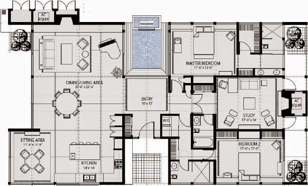 Planos de casas gratis plano casa 256 m2 for Plantas arquitectonicas minimalistas
