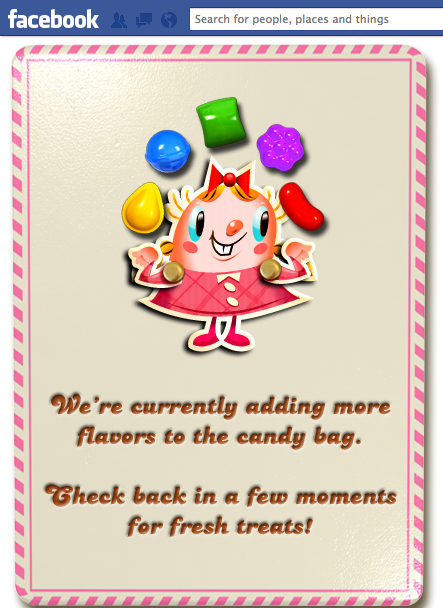 Infinite Lives in Candy Crush Saga