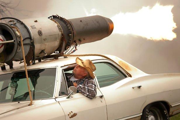 Congratulate, Amateur rocket engines theme simply