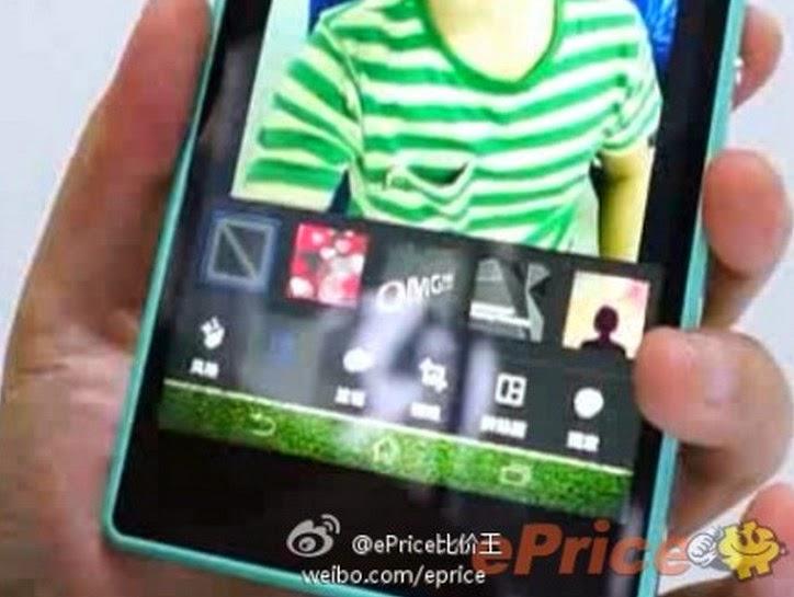 Sony Xperia C3, Sony Selfie Phone
