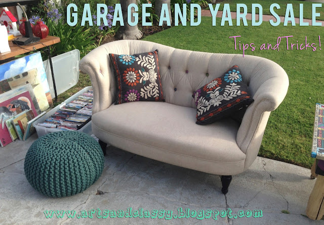 garage/yard/moving sale diy tips and tricks