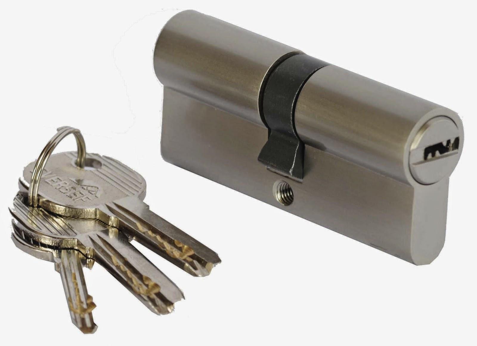 cerradura con llaves nueva