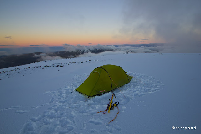 wild camping, Scafell Pike