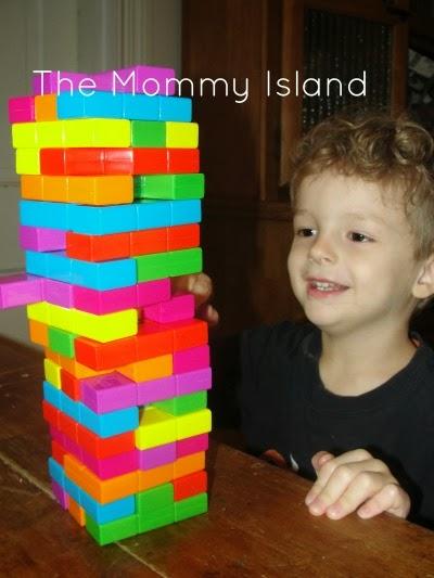 The Mommy Island Colorful Fun Jenga Tetris Review