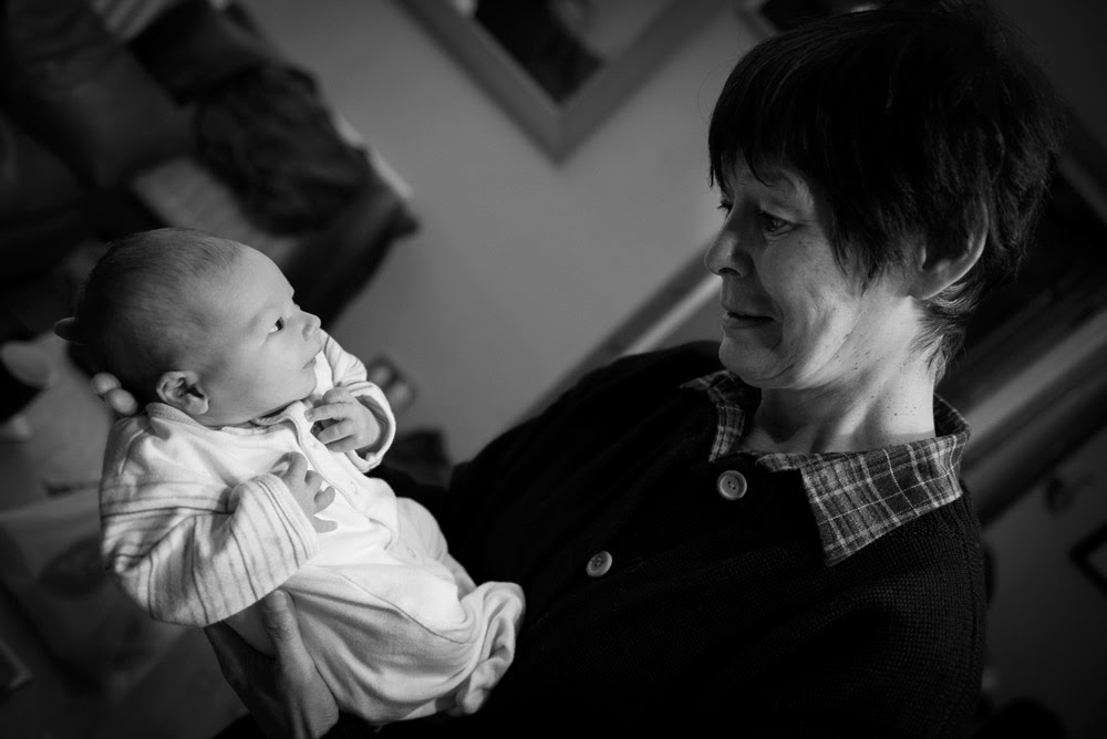 photograph of a child with his grandparent by emerson photography