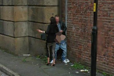 Casal apanhado em acto sexual no Google Street View