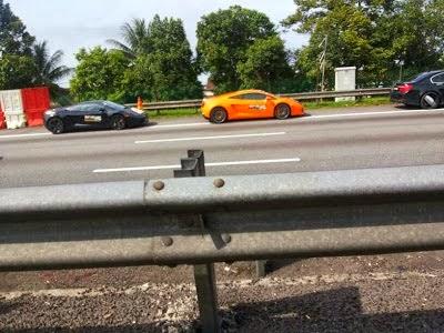 Kamera Kupang Kereta Lamborghini Terbakar L Raya Plus Plustrafik