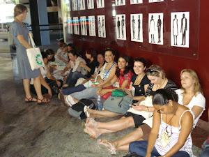 Muitas filas no primeiro dia do VII Fórum Brasileiro de Educação Ambiental em Salvador - Bahia