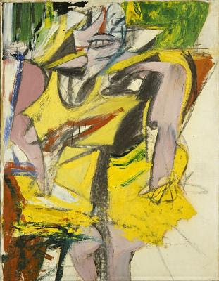 Willem de Kooning- Woman, (1953)