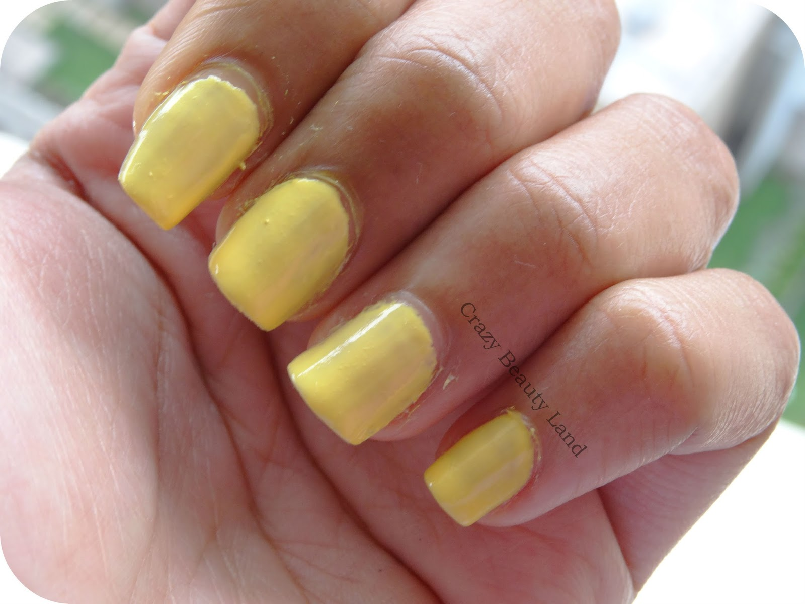 We all need a little yellow sometimes! Sally Hansen Hard As Nails ...