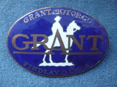 Grant Radiator Emblem