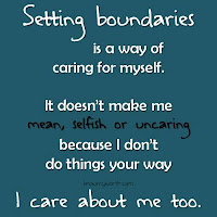 Say no, boundaries, set priorities