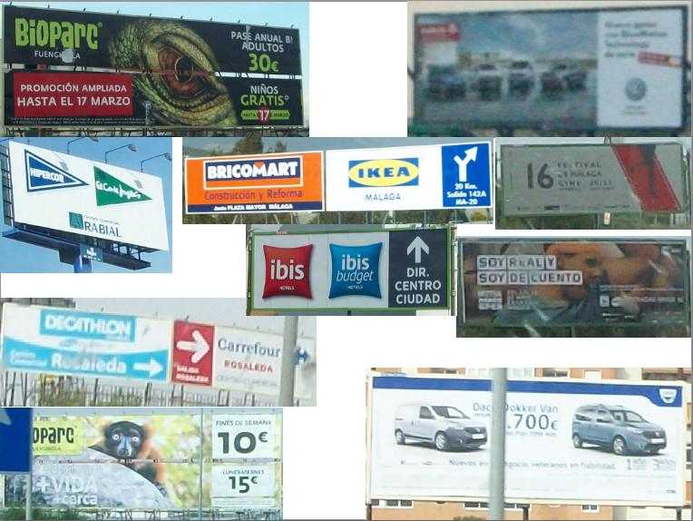 Vallas publicitarias espa a - Cocinas schmidt malaga ...
