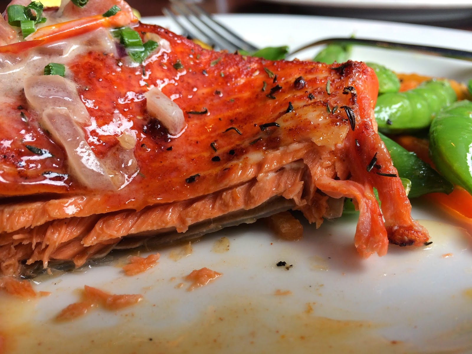 Sockeye Salmon at Elliott's Oyster House in Seattle