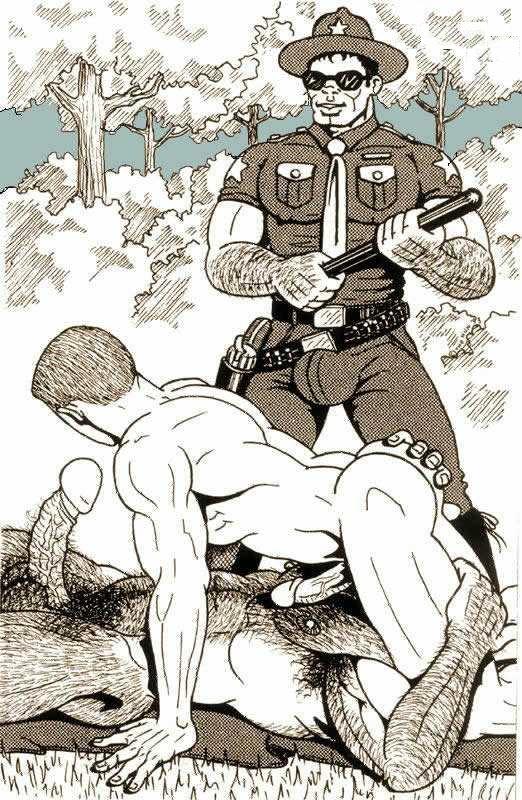 Гей Порно Комикс Армия