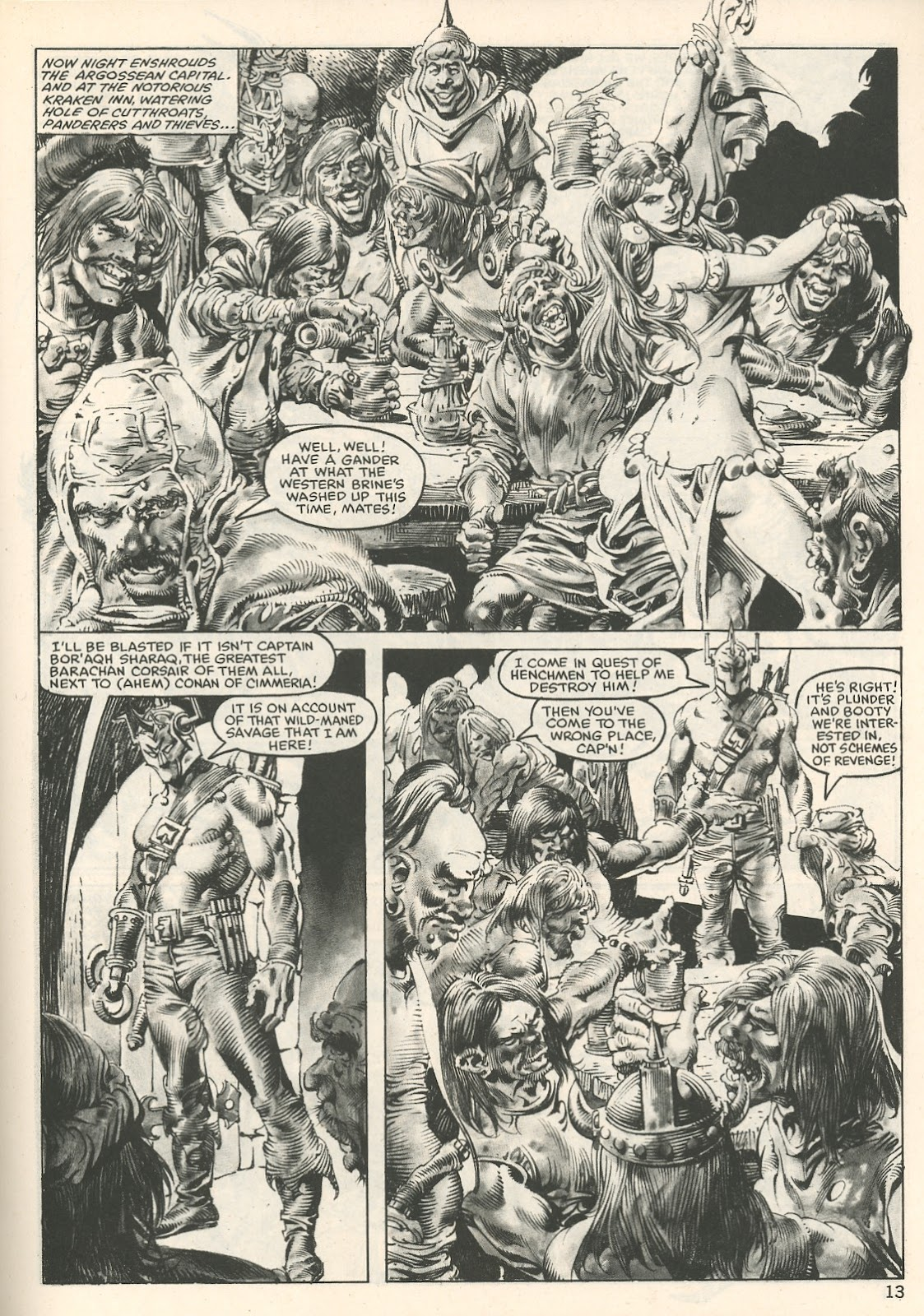 The Savage Sword Of Conan Issue #107 #108 - English 13