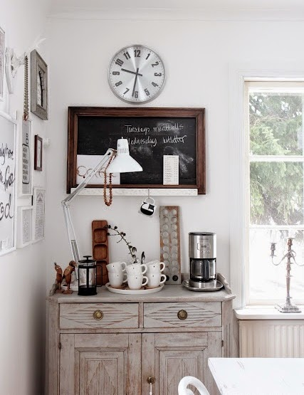 For A BBQ I Was Hosting The Next Day And Now Im On Hunt Right Buffet Table To Keep This Coffee Bar My Dining Room