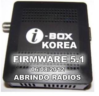 00000001 Atualizaçao IBOX Korea 5.1 abrindo radios confira 06/08