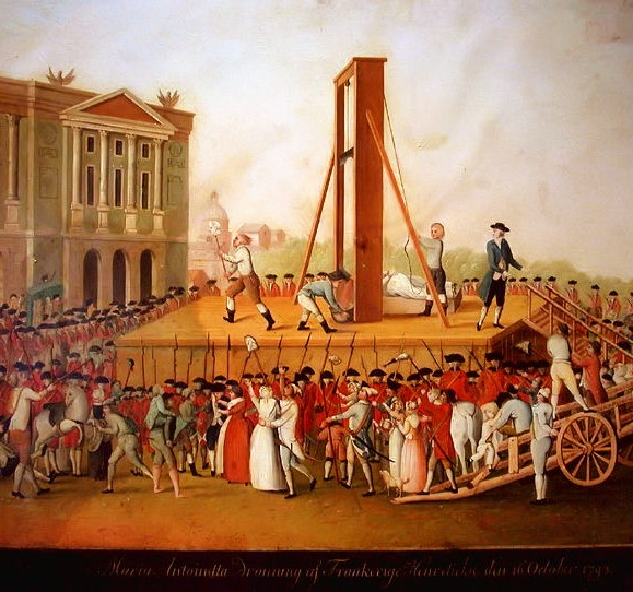 The Guillotine in Revolutionary France