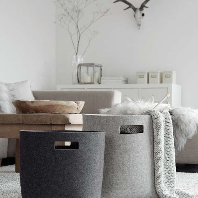 storage ideas, living room  •  the round button blog