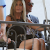 JENNIFER ANISTON ATTENDS JIMMY KIMMEL WEDDING