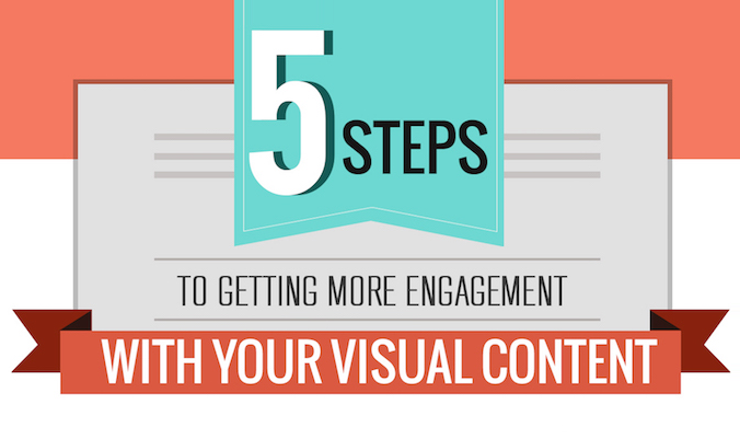 How To Use Visual Content To Get More #SocialMedia Engagement - #infographic #contentmarketing