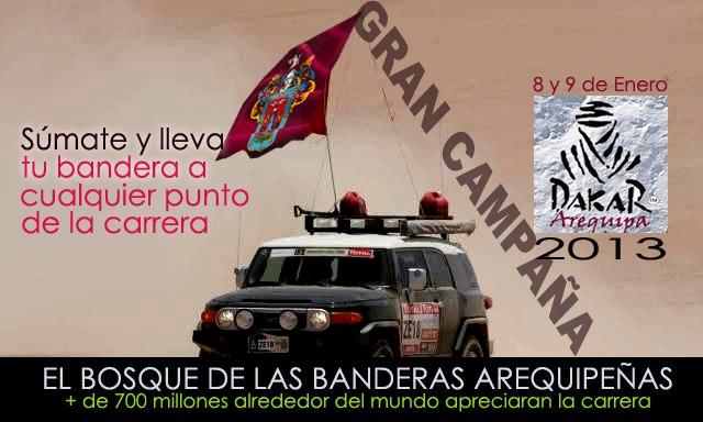 Gran campaña - el bosque de banderas arequipeñas ( 8 y 9 de enero)