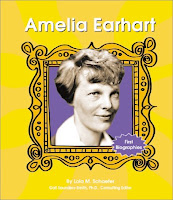 bookcover of Amelia Earhart by Lola M. Schaefer