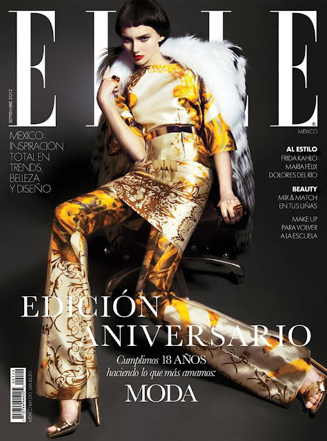 Anna Kazakova for ELLE Magazine, Mexico