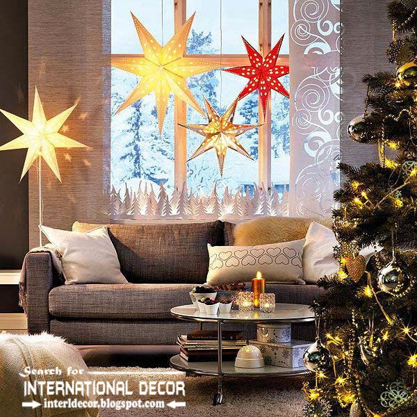 New Ikea Christmas decorations 2015, new year decorating ideas from ikea catalogs