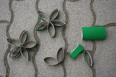 Natal decoração reciclável
